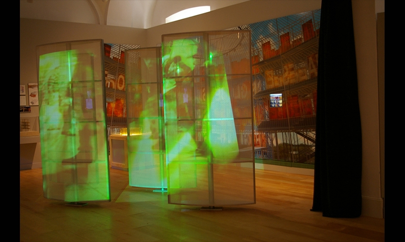Exhibit Features, Reinventing the Globe, National Building Museum, Rockwell Group