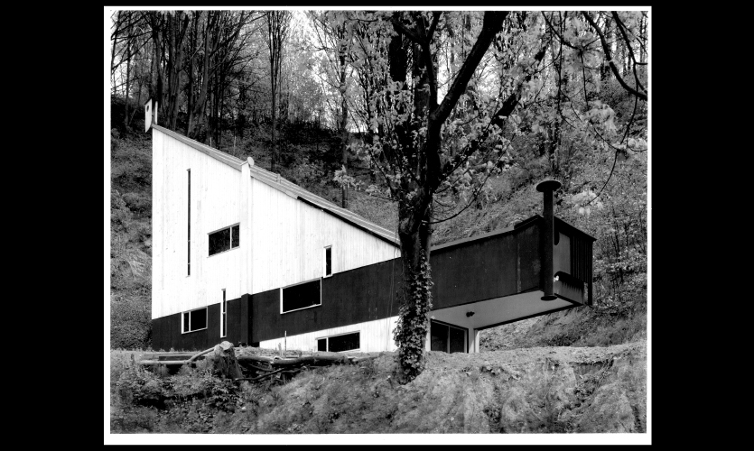 The Egan House is a single family mid-century modern residence, owned by Historic Seattle.