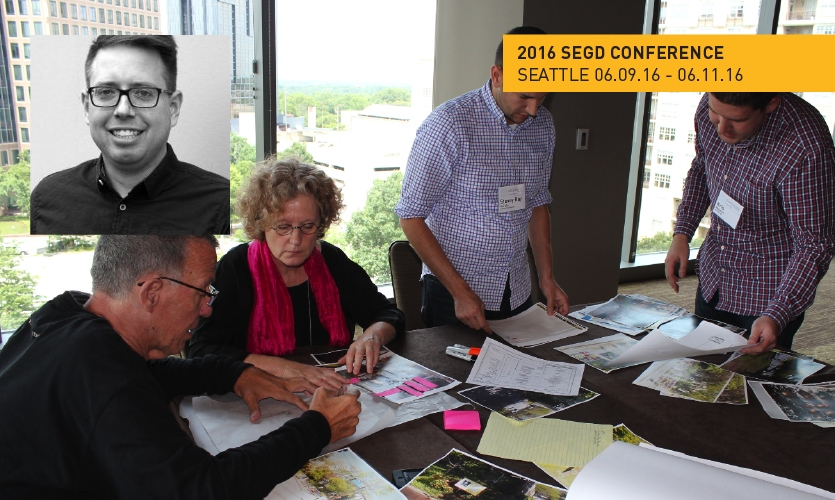 Noah Jeppson will lead the Design Improv(e) Session at the 2016 SEGD Conference Experience Seattle