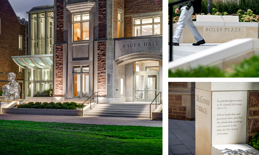 Washington University St. Louis: Olin School of Business Donor Recognition, St. Louis, MO