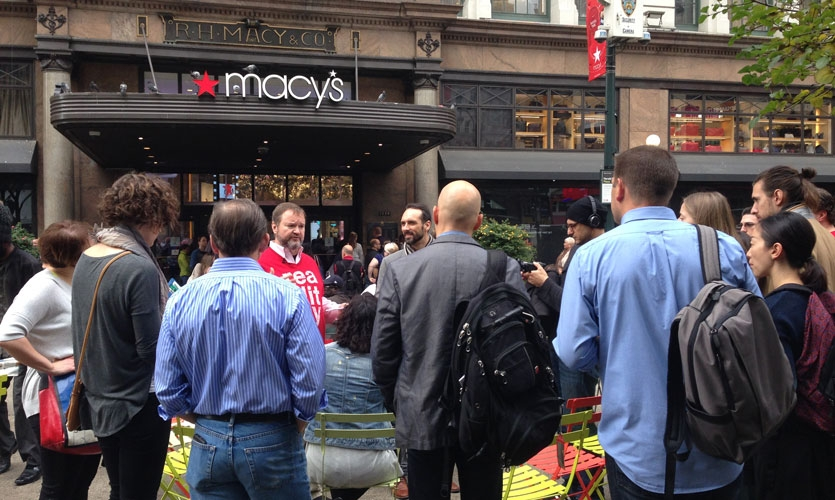 Go behind-the-scenes to explore the frameworks used to create innovative retail experiences on the Experiential Retail in Action Walking Tour.
