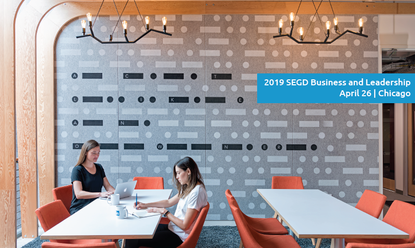 SEGD Business & Leadership Chicago will focus on mid-level designers who are looking to gain the necessary business and leadership skills as they develop and move into senior leadership and management roles.
