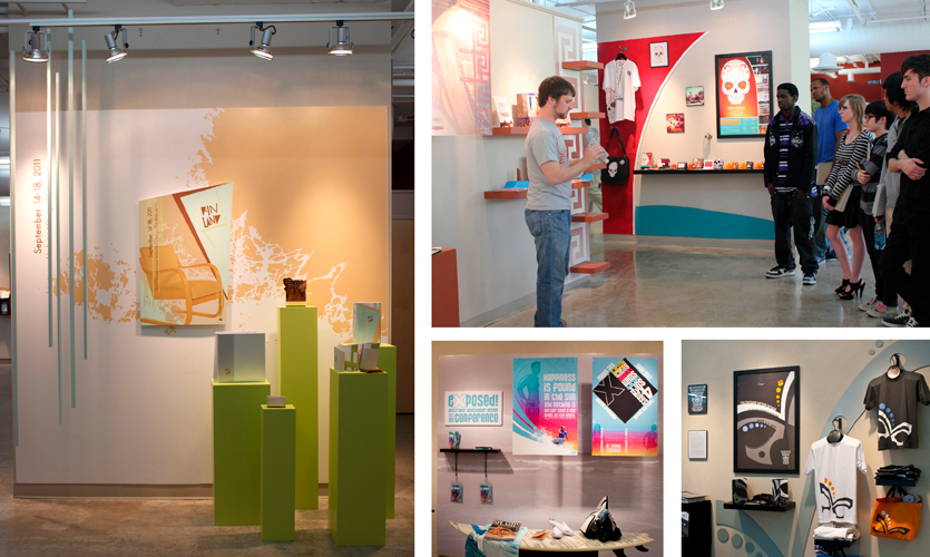 Mount St. Joseph University - Senior Thesis Exhibitions and Presentations (4th year)