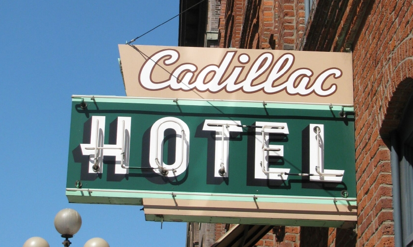 The Cadillac Hotel is the home of the National Park Service's Klondike Gold Rush National Historical Park.