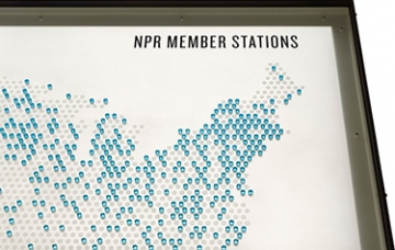 Photo of This is NPR interactive exhibition