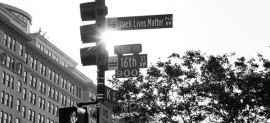 Images and Reflections—Black Lives Matter Plaza