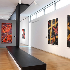 Klaus Moje: Paintings in Glass, Museum of Arts and Design, Wendy Evans Joseph Architecture