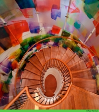 photograph of Museum of Art Education stairwell