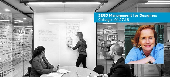 Join Shannon Hackley for the 2018 SEGD Management for Designers event, April 27 in Chicago.